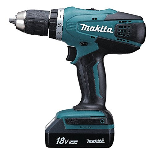 Makita DF457DWE Perceuse-Visseuse + 2 batteries 18V 1.3Ah Li-Ion + Coffret de transport