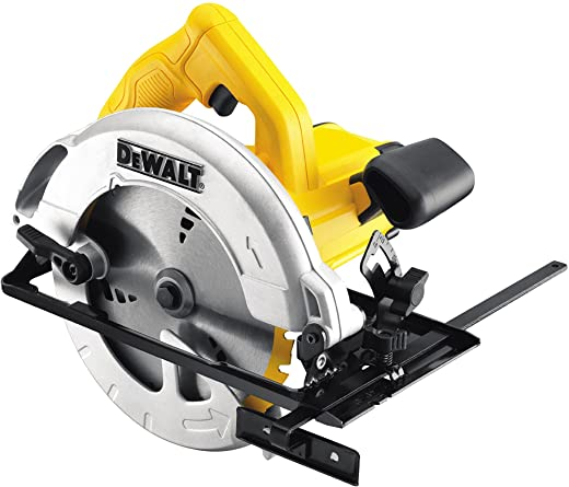 DeWalt DWE560-QS Scie circulaire filaire - Moteur 1350W - Ø190 mm - Profondeur de coupe 65 mmInclinaison de la lame 48° - Lame carbure 24 dents - Guide parallèle - Adaptateur d'aspiration - Clé - Mallette de transport