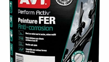 AVI PERFORM ACTIV FER : Peinture anti corrosion. Brillant – 0,5L
