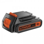 BLACK+DECKER BL2018 Batterie Lithium 18V Noir