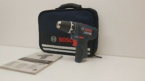 BOSCH GSR 12V-15 PROFESSIONAL DRILL DRIVER BODY ONLY WITH CARRY BAG