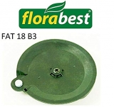 Disque FAT 18 B2 Florabest LIDL coupe-bordures sans fil