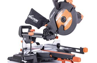Evolution Power Tools R255SMS+ : Scie à onglets coulissante