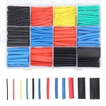 Gaine Thermorétractable, Preciva 750 Pieces avec 5 Couleurs 12 Tailles Ratio 2:1, Tube Thermorétractable 1-13mm Kit