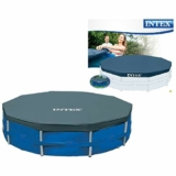 INTEX Bâche de protection piscine tubulaire ronde