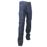 LMA 146700 WORK Jeans Extensible Multipoches Denim Stretch