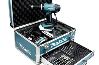 Perceuse visseuse Makita HP457DWEX4 à percussion