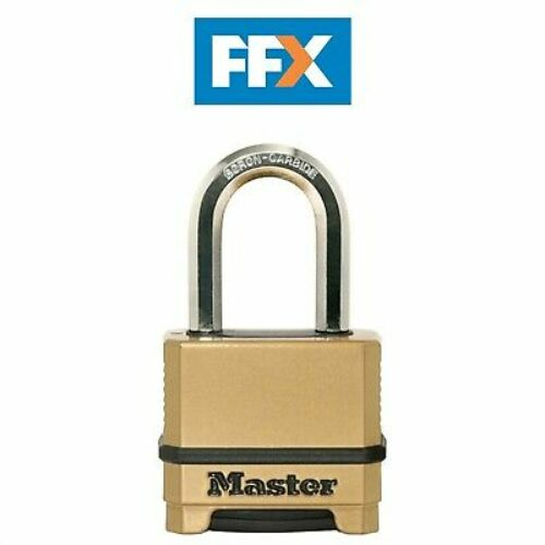 Masterlock M175EURDLF Excell 4 Chiffres Combinaison 50mm Cadenas 38mm Anse