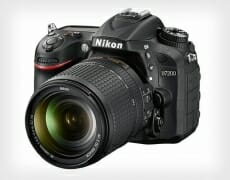 Nikon D7200 and Product Sections