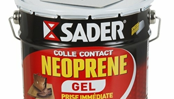SADER Colle contact néoprène gel 2,5 L
